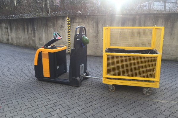 Klecový vozík